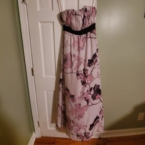 H&M strapless maxi dress